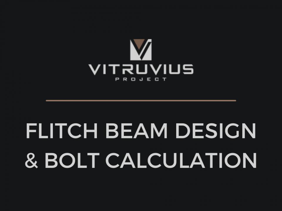 Flitch Beam Calculator